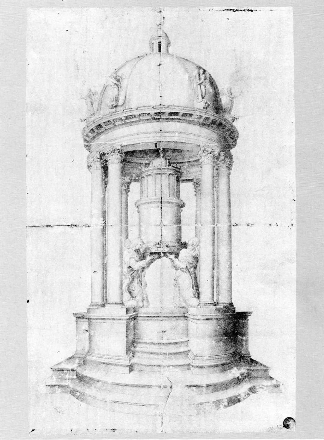 Corpus dei disegni di architettura duomo di milano for Disegno di architettura online